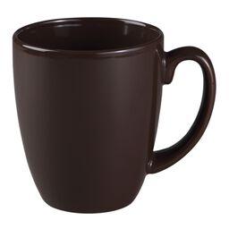 Livingware™ 11-oz Stoneware Mug, Chocolate