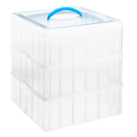"Snap 'N Stack® Home Storage Container 12"" x 12"""