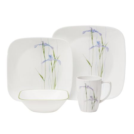 Square™ Shadow Iris 16-Pc Dinnerware Set
