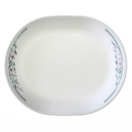 """Livingware™ Rosemarie 12.25"""" Serving Platter"""