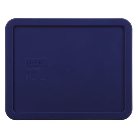 Plastic Lid 11 Cup Rectangular, Blue