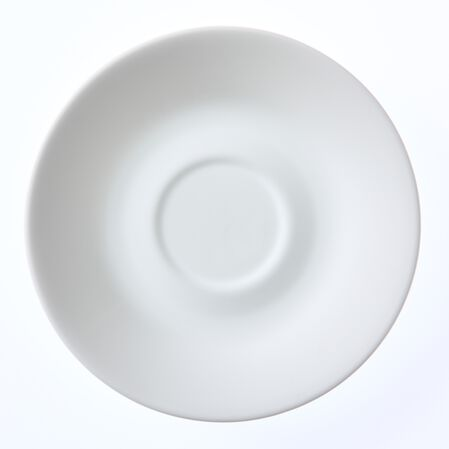 """Livingware™ Winter Frost White 6.25"""" Saucer"""