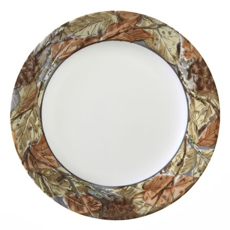 "Impressions™ Woodland Leaves 8.5"" Plate"