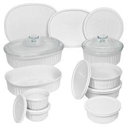 French White® 18-pc Round & Oval Set
