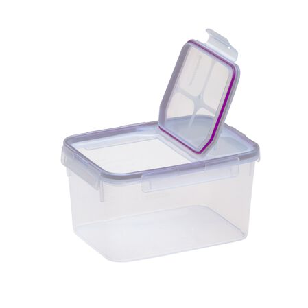 Airtight Food Storage 10.8 Cup Rectangular Container w/ Fliptop Lid
