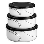 Coordinates® Simple Lines 6-pc Bowl Set