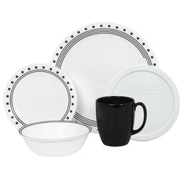 Livingware™ City Block 20-pc Dinnerware Set w/ Lids