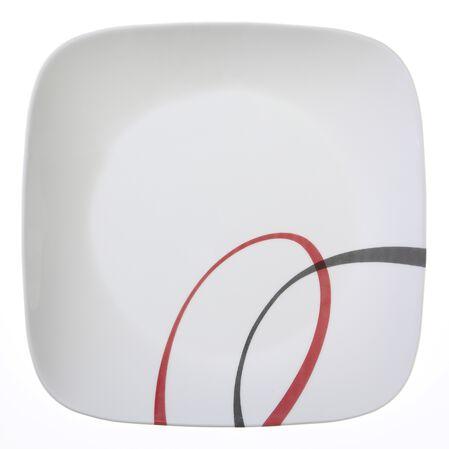 "Square™ Fine Lines 8.75"" Plate"