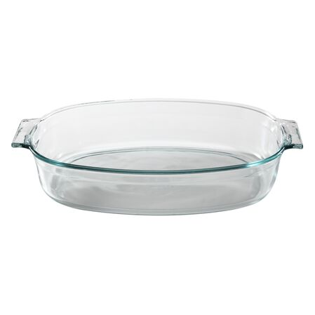 4-qt Glass Roaster