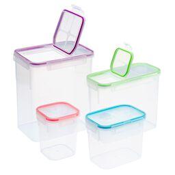 Airtight Food Storage 8-pc Set