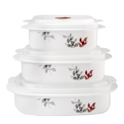 Coordinates® Kyoto Leaves 6-pc Microwave Set