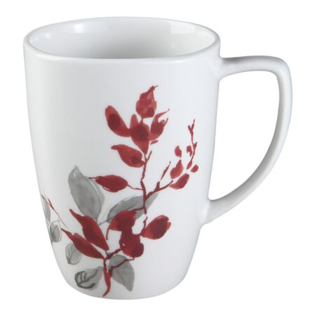 Square™ Kyoto Leaves 12-oz Porcelain Mug