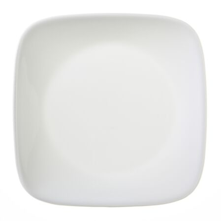 "Square™ Pure White 6.5"" Plate"