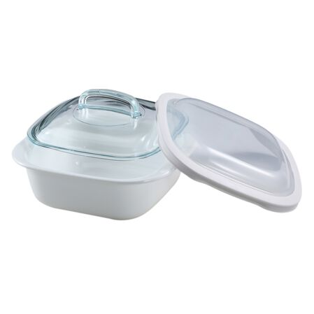 Bake, Serve, Store™ 1.5-qt Square Bakeware Dish w/ Glass & Plastic Covers