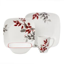 Boutique™ Kyoto Leaves 16-pc Dinnerware Set