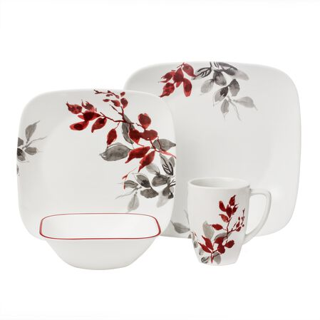 Boutique™ Kyoto Leaves 16-pc Dinnerware Set