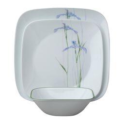 Square™ Shadow Iris 18-pc Dinnerware Set