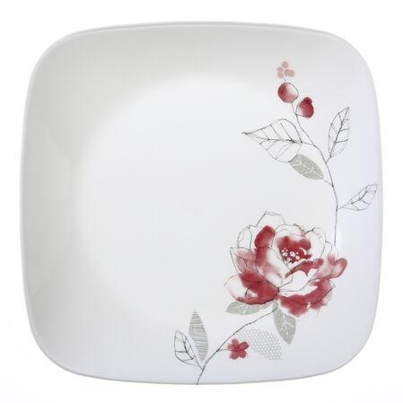 """Square™ Blushing Rose 8.75"""" Plate"""
