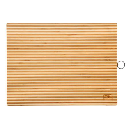 """Woodworks™ Bamboo 16"""" x 12"""" Cutting Board with Hook"""