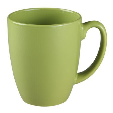 Livingware™ 11-oz Stoneware Mug, Yellow Green