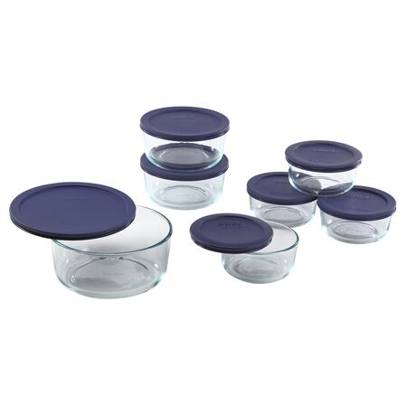 Simply Store® 14-pc Set w/ Blue Lids