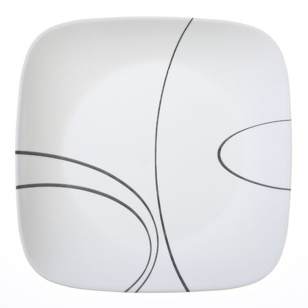 """Square™ Simple Lines 10.25"""" Plate"""