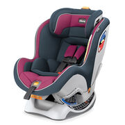Chicco NexFit Convertible Car Seat in dark grey and pink Amethyst style