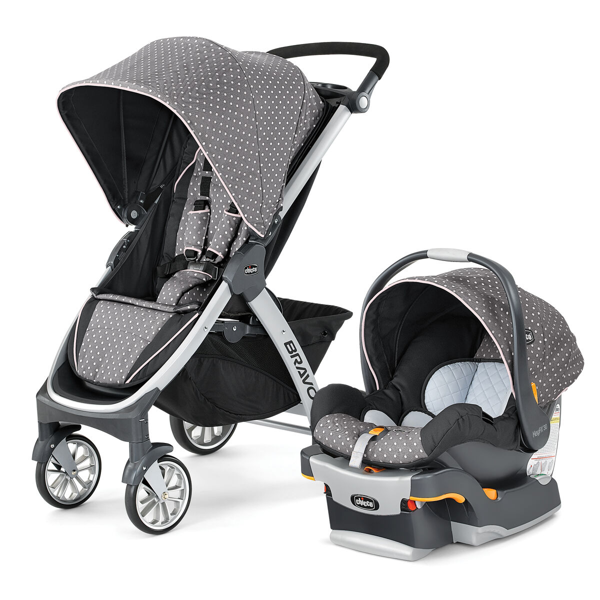 chicco chicco bravo trio travel system stroller lilla. Black Bedroom Furniture Sets. Home Design Ideas