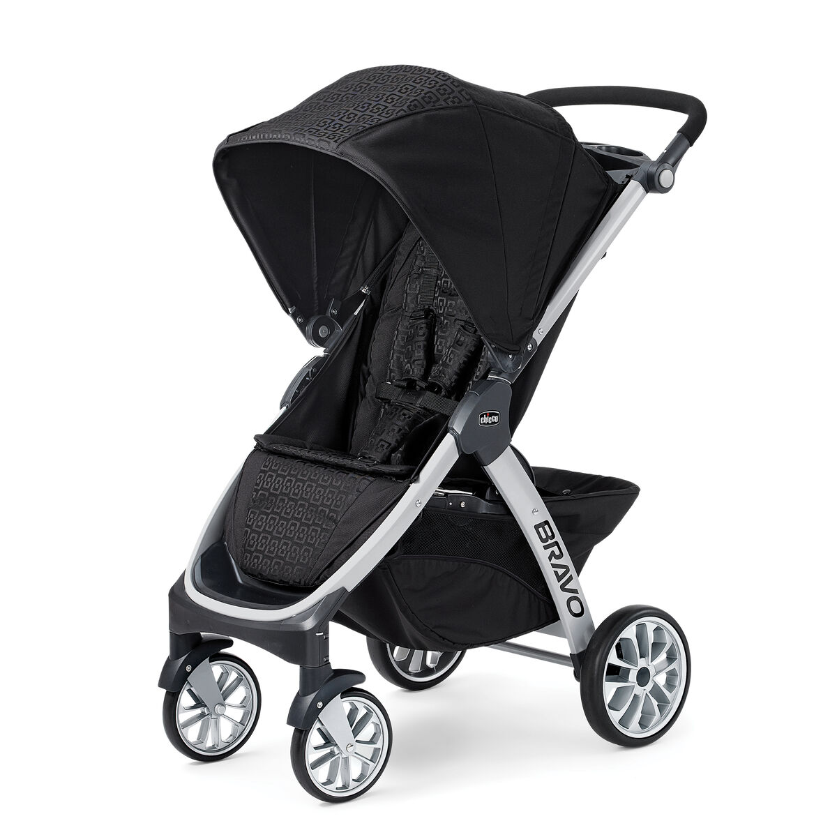 chicco chicco bravo trio stroller ombra. Black Bedroom Furniture Sets. Home Design Ideas