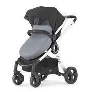 Chicco Urban 6 in 1 Modular Stroller in Black and Coal Gray