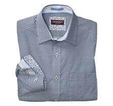 Diagonal Link Print Shirt