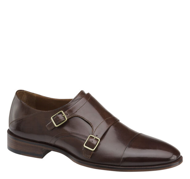 Nolen Double Monk Cap Toe