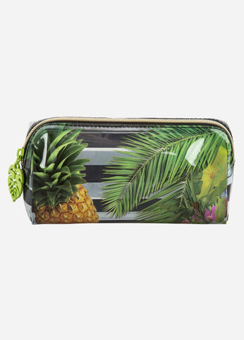 Tropical Be Bold Cosmetic Case