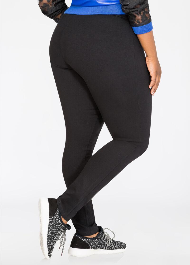 Active Slimming Compression Legging-Plus Size Leggings ...