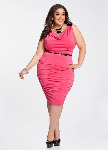 Ruched Accent Dress