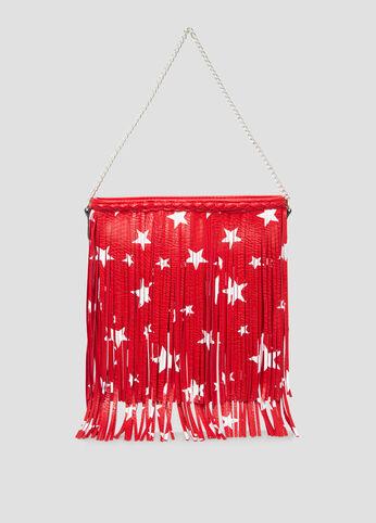 Star Fringe Crossbody Bag
