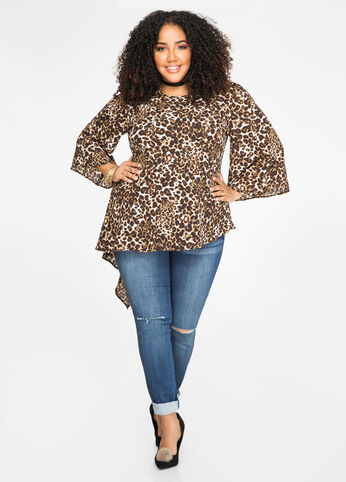 Cheetah Girl Plus Size Outfit