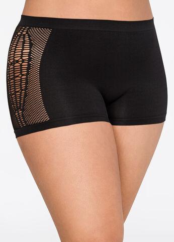 Open Side Seamless Boyleg Panty