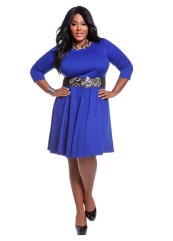 Web Exclusive: Royal Blue Dress