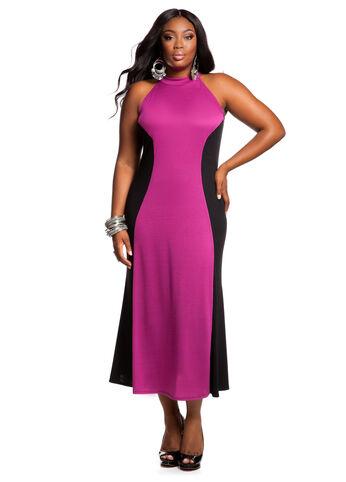 Web Exclusive: Color Block Dress