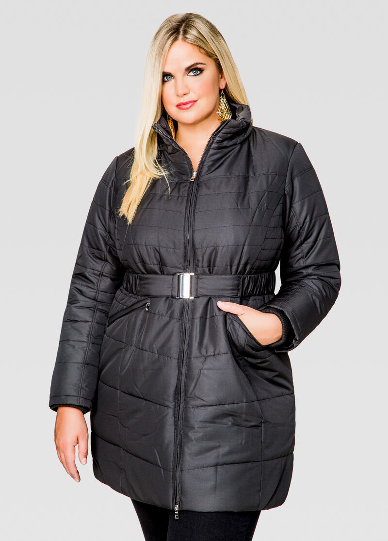 Belted Winter Coats - Tradingbasis