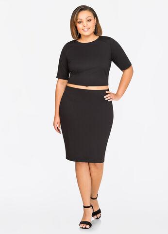 Ponti Slim Skirt