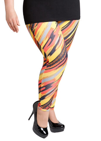 Colorful Print Legging