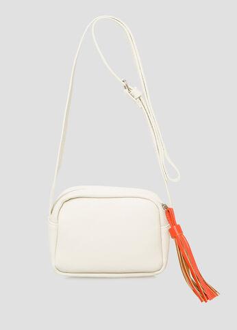 Colored Tassel Crossbody Bag