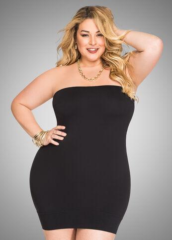 Seamless Tube Dress - Black