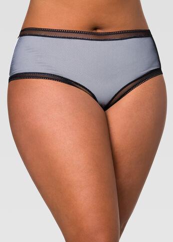 Fishnet Micro Boyleg Panty
