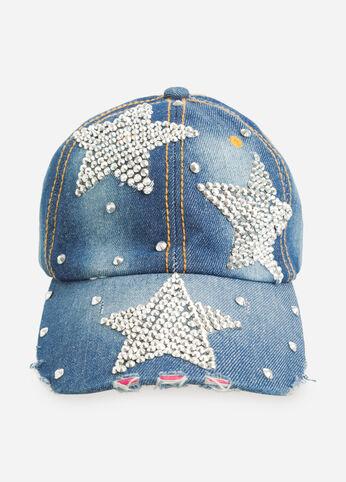 Rhinestone Star Baseball Cap