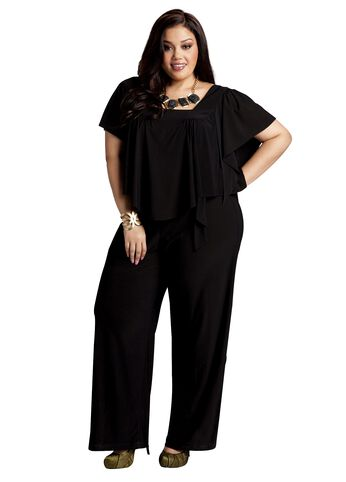 Web Exclusive: Ruffle Overlay Jumpsuit