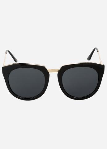 Abstract Cat Eye Sunglasses