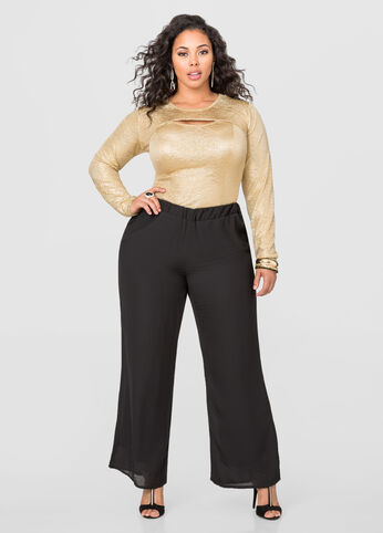 Georgette Palazzo Pant